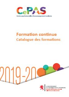 Capture-catalogue-Formation continue SePAS-CePAS-2019-2020